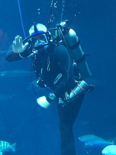 Dr. Humphrey Scuba Diving